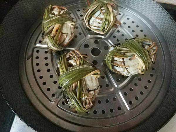 清蒸大闸蟹的简单做法