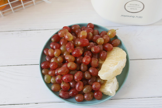 柚子葡萄汁的做法图解
