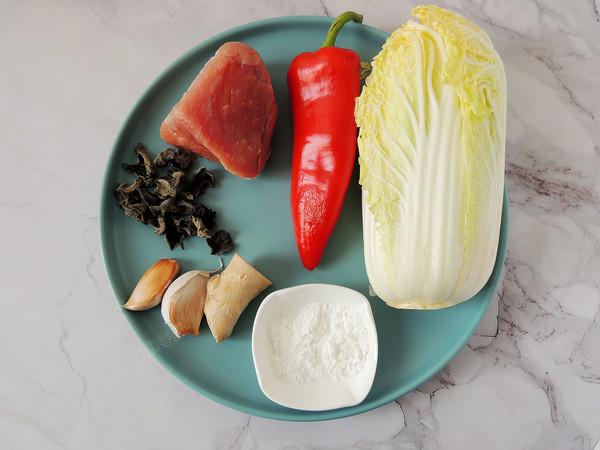 白菜木耳炒肉片的做法大全