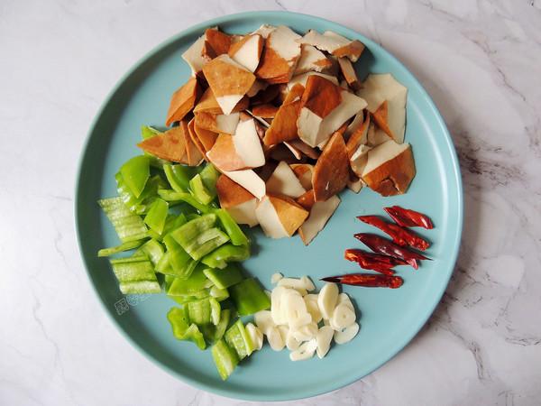 豆豉青椒炒香干的做法图解