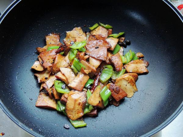 豆豉青椒炒香干怎么煮