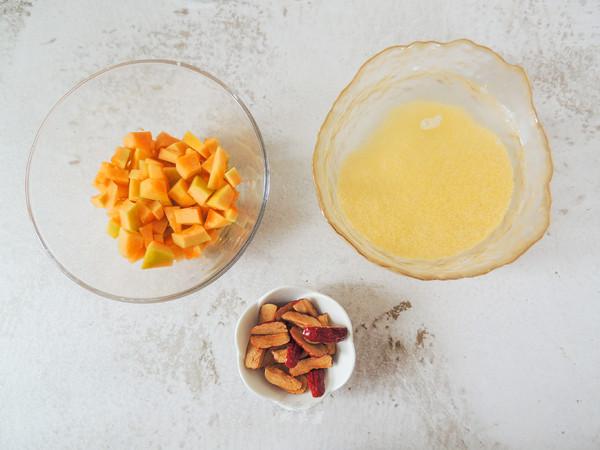 红枣南瓜小米豆浆的做法图解