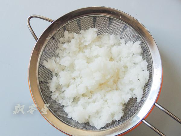 白萝卜酿肉的简单做法