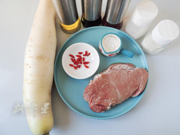 白萝卜酿肉的做法大全