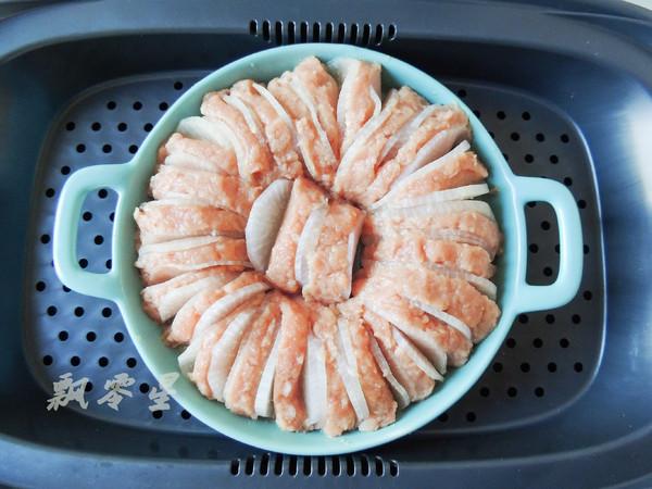 白萝卜酿肉怎么炒