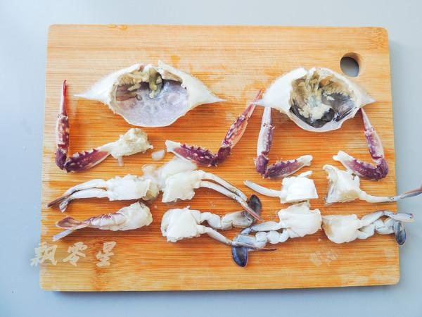 梭子蟹和咖喱碰撞出的美味,简单零失败的家常做法