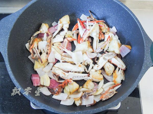 梭子蟹和咖喱碰撞出的美味,简单零失败怎么煮