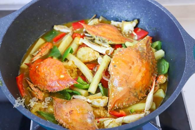 梭子蟹和咖喱碰撞出的美味,简单零失败怎样做