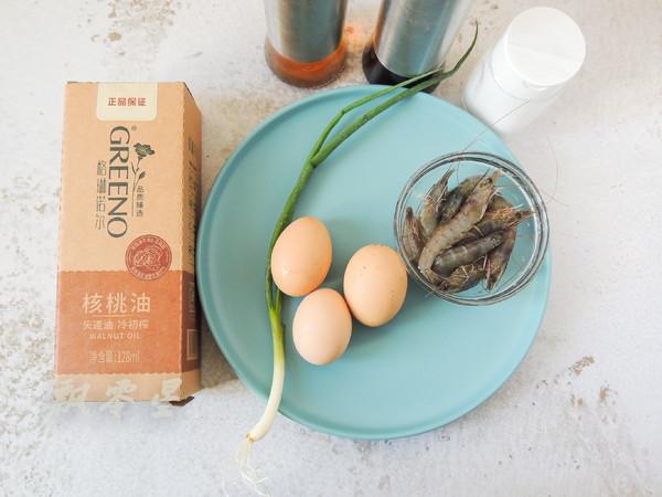 鲜虾蒸水蛋的步骤
