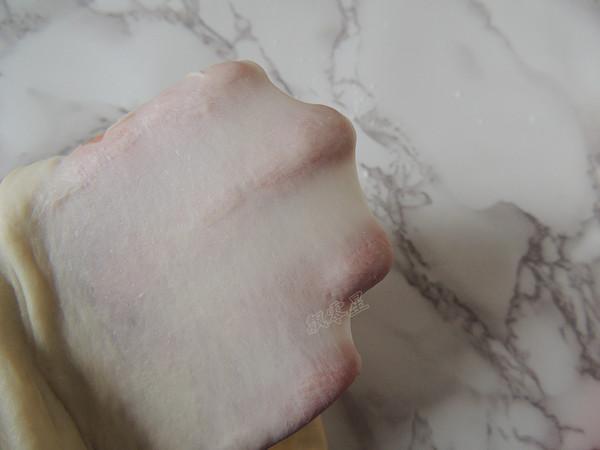 芝麻葱花面包的步骤