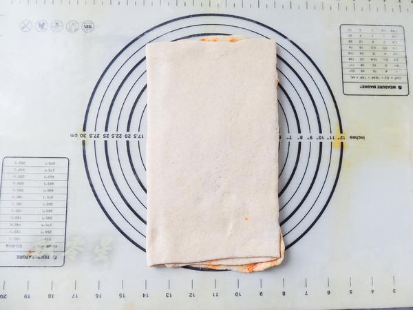 生煎荞麦辣酱花卷的步骤