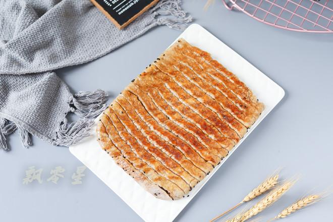 生煎荞麦辣酱花卷成品图