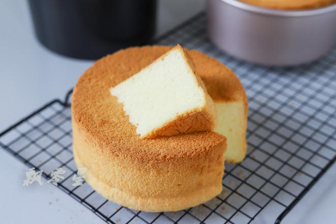原味戚风蛋糕的步骤