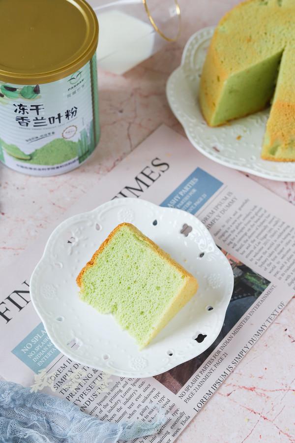 斑斓戚风蛋糕成品图