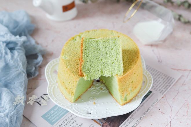 斑斓戚风蛋糕的步骤