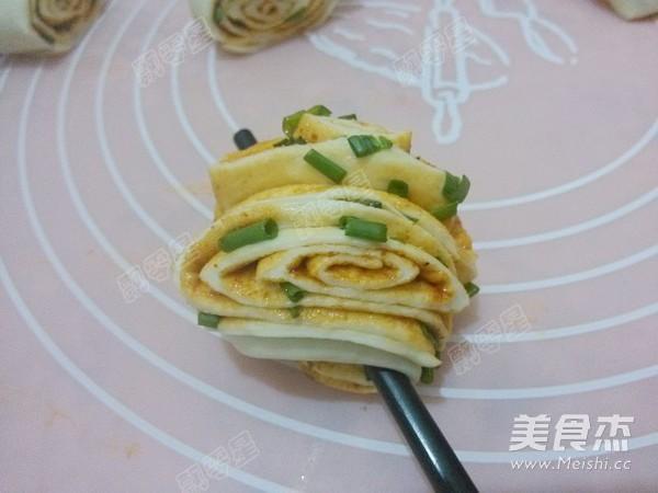 韩式辣酱花卷怎样炒