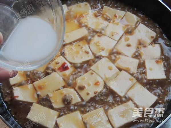 麻婆豆腐的制作大全