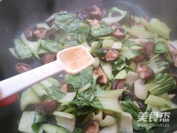 香菇油菜怎样煸
