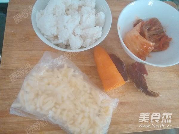 辣白菜芝士焗饭的做法大全