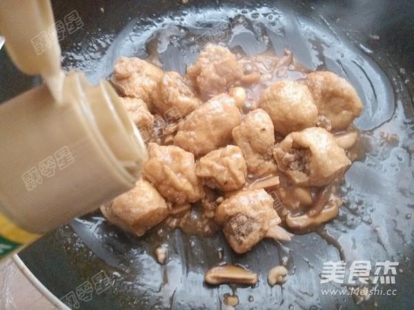 油豆腐镶肉怎么煸