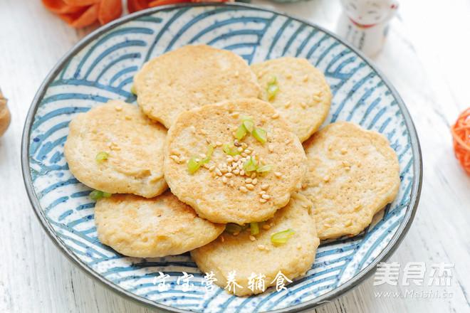 香煎藕饼的制作