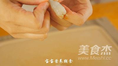 豆腐虾肉蔬菜条怎么做