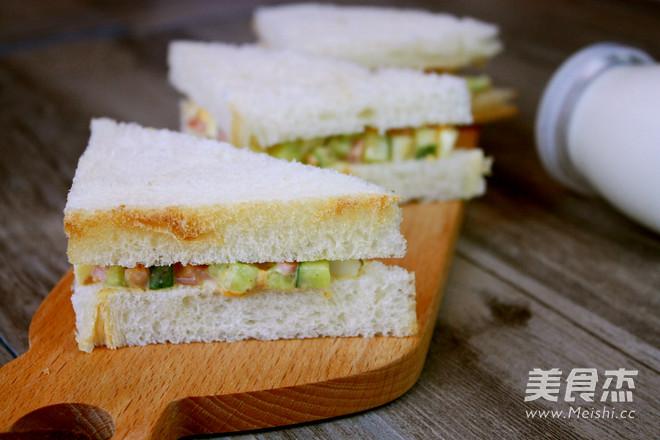 快手早餐——鸡蛋三明治怎么吃