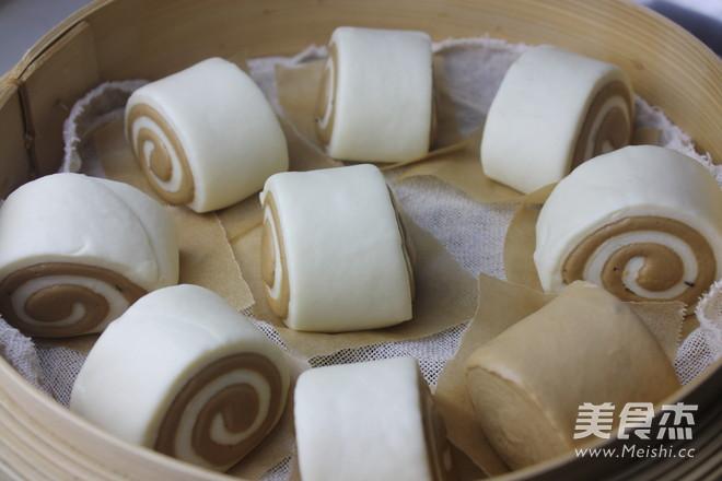 枣泥双色刀切馒头(含枣泥做法)怎样煮