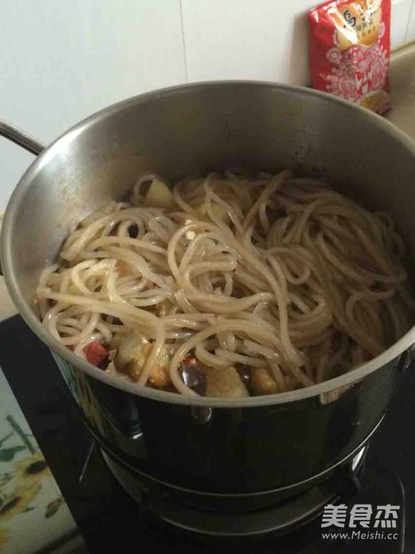 少油版大锅菜的制作方法