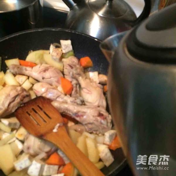 咖喱鸡腿怎么煮