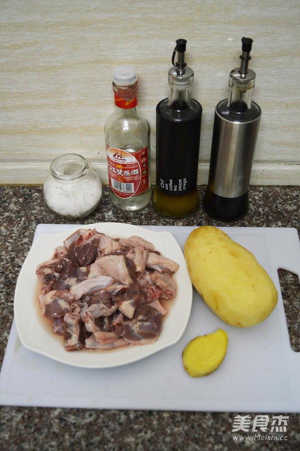 土豆焖鸭肉的做法大全