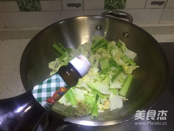 包菜小炒怎么做