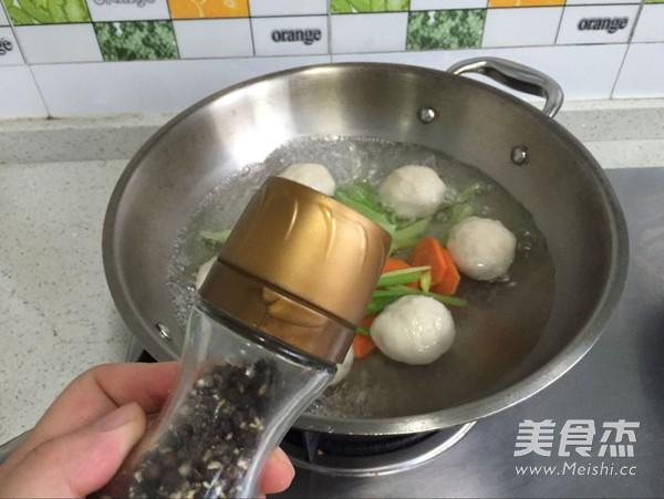 双蔬鱼丸汤怎么做