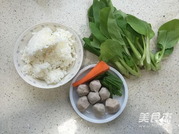 虾丸青菜汤饭的做法大全