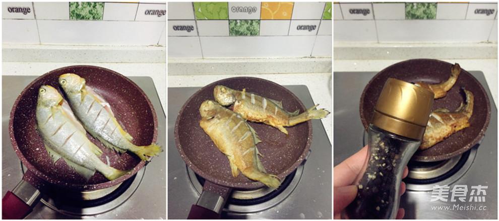无油版煎黄鱼的做法图解