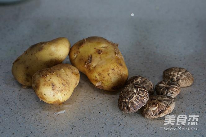香菇土豆焖鸡的做法图解