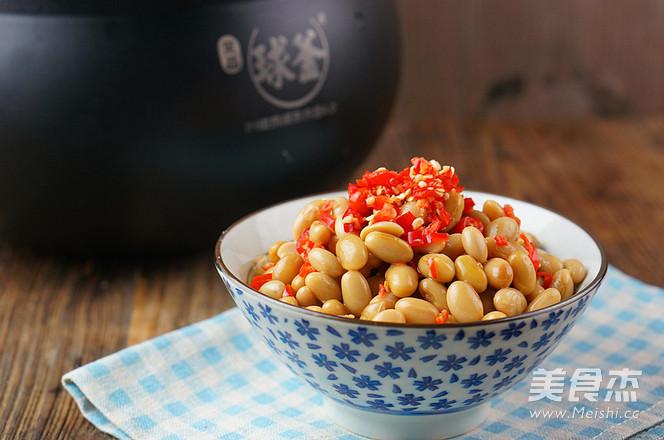 剁椒黄豆怎么炒