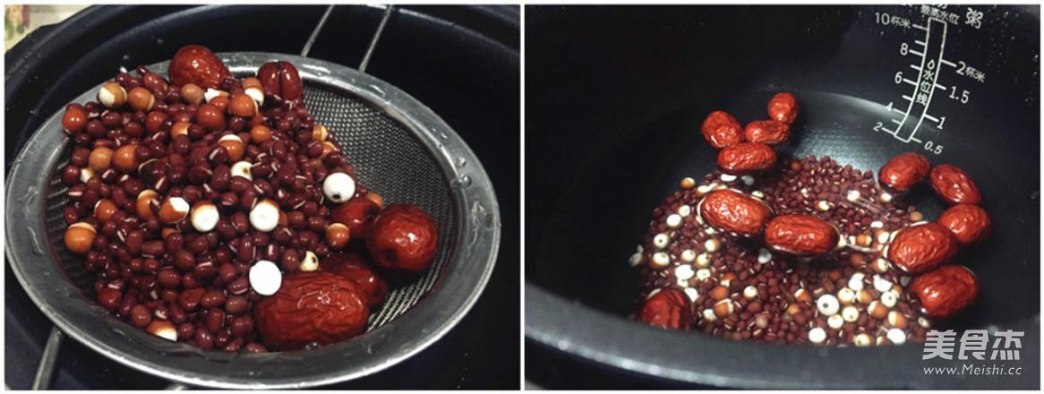 芡实红豆汤的做法图解
