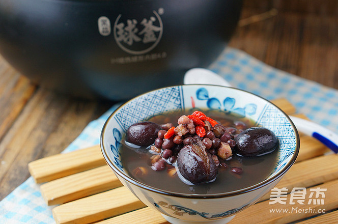 芡实红豆汤的简单做法