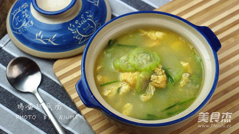 丝瓜鸡蛋汤的家常做法