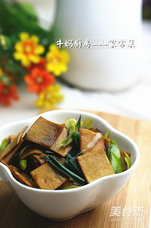 辣味青蒜豆干怎么吃