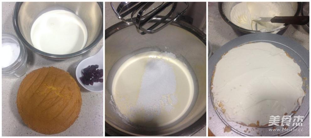 可可蔓越莓蛋糕的做法大全