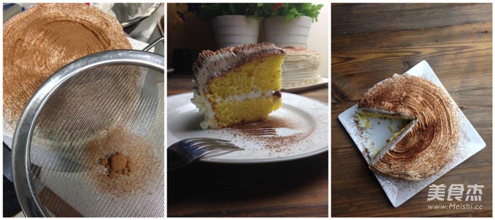 可可蔓越莓蛋糕的家常做法