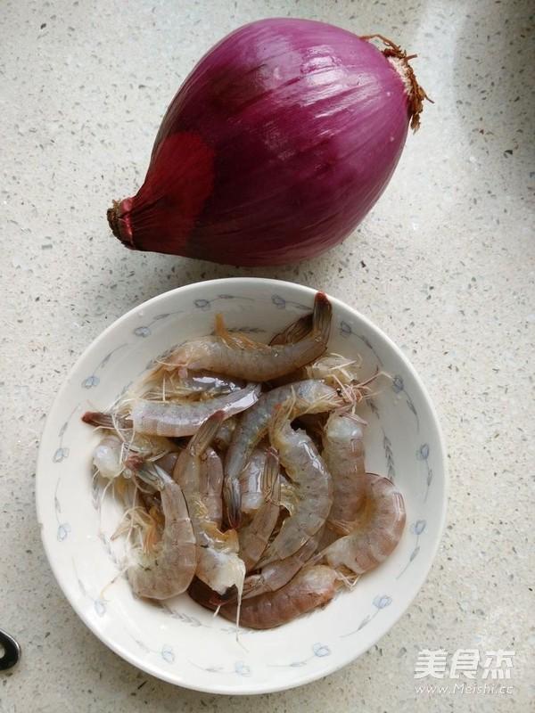 洋葱炒虾仁的做法大全