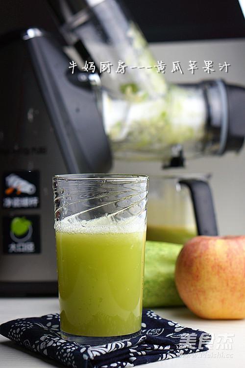 黄瓜苹果汁成品图