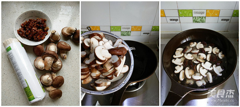 香菇杂酱汤面的做法大全