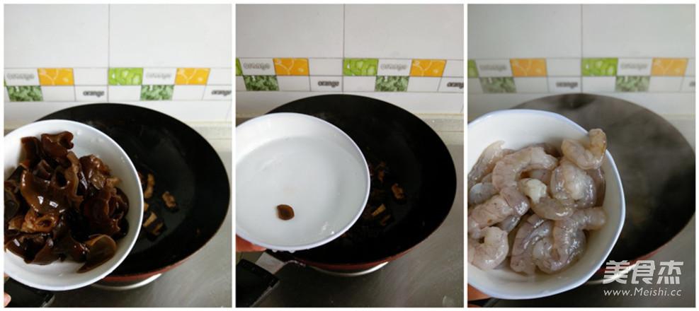 虾仁菌菇汤面的做法图解
