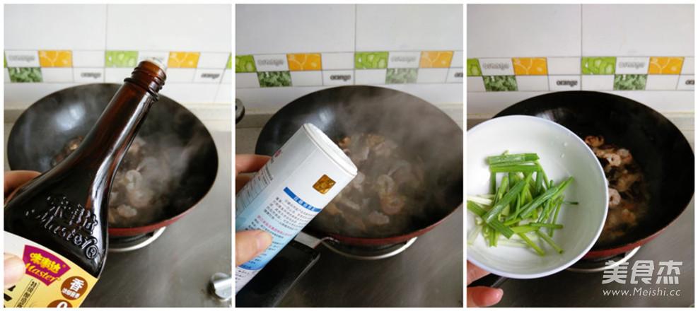 虾仁菌菇汤面的家常做法