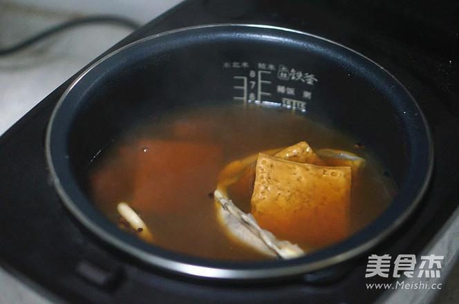淡卤墨鱼豆干怎么煮