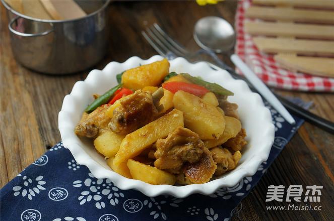 土豆焖鸡翅怎么煸